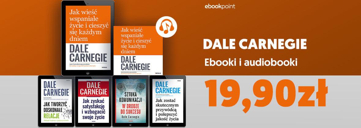 Promocja na ebooki DALE CARNEGIE [19,90zł]